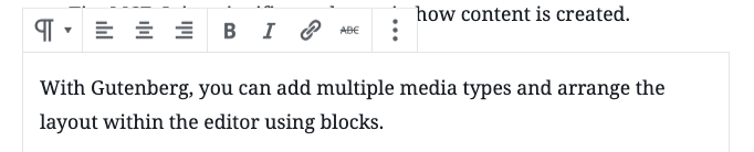 Pargraph block writing tools