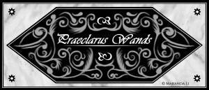 Praeclaurus Wands Sponsor Logo