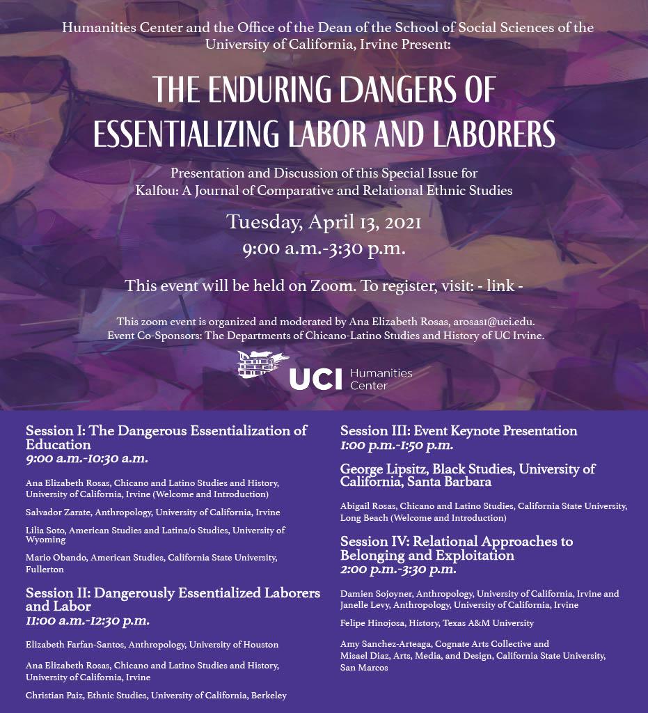 Essentializing Labor Flyer