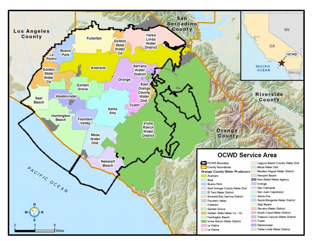 OCWD service area