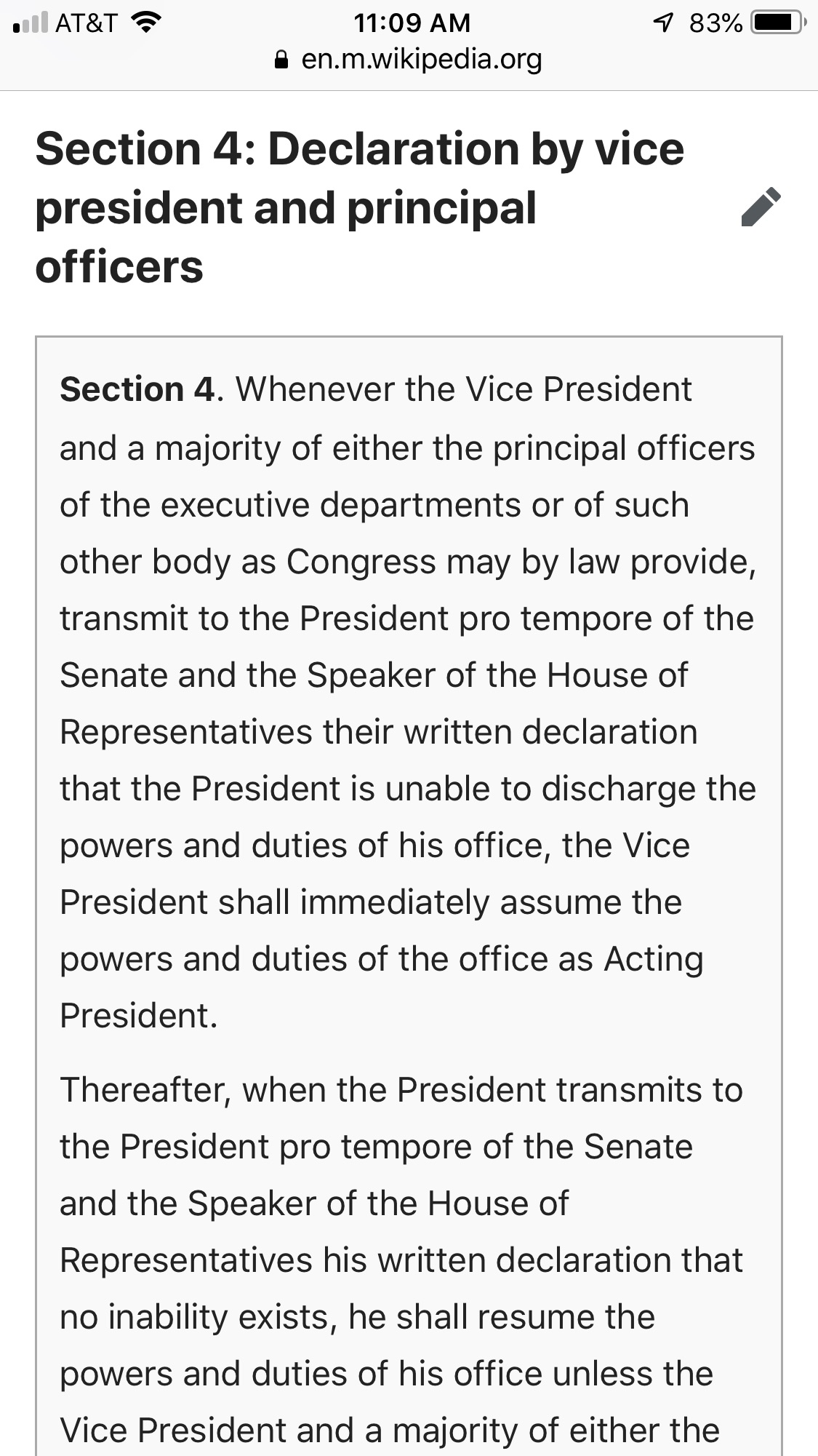 Vice President Pence is Required to Consider the 25th ...