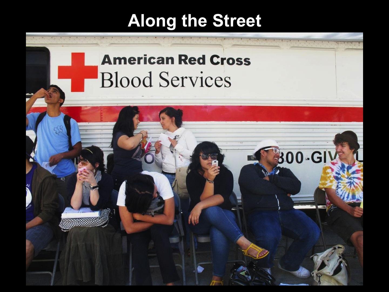 American Red Cross Bloodmobile