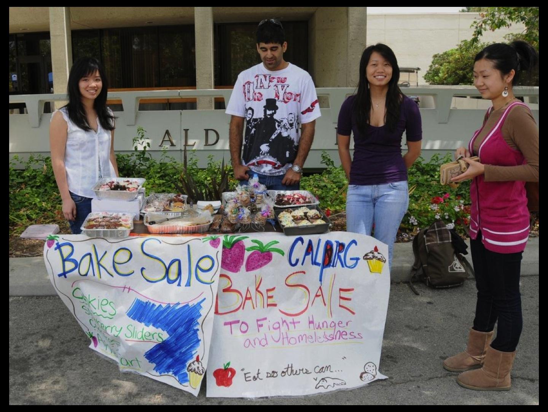 Calpirg Bake Sale