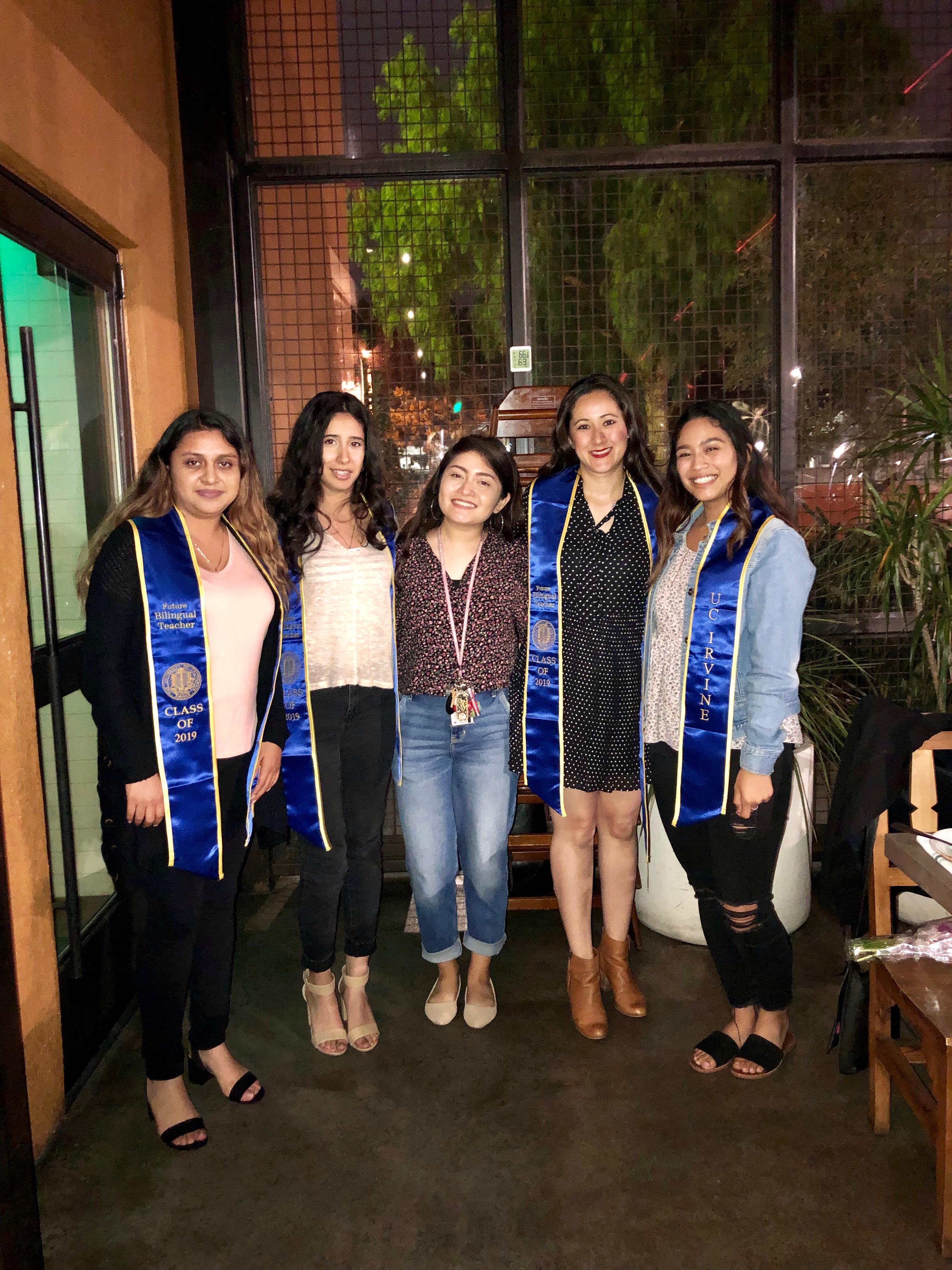 Graduating BTSA Members