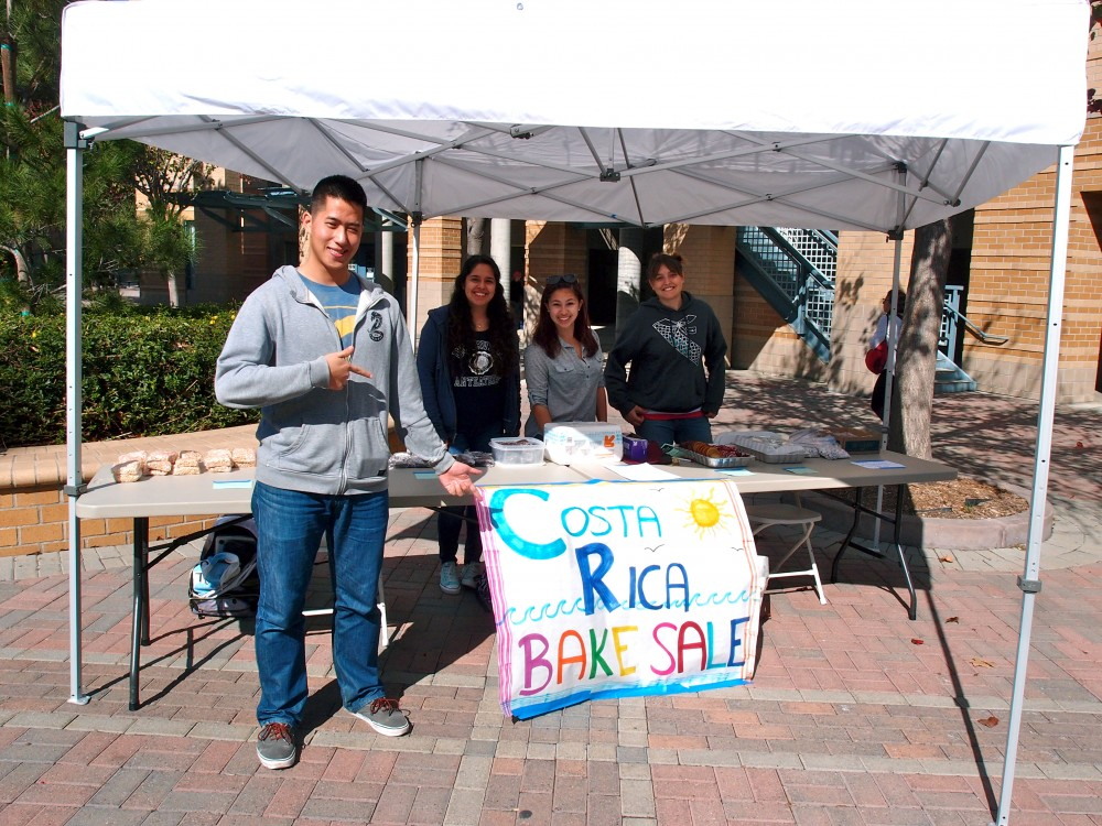 Just a few of our participants selling baked goods
