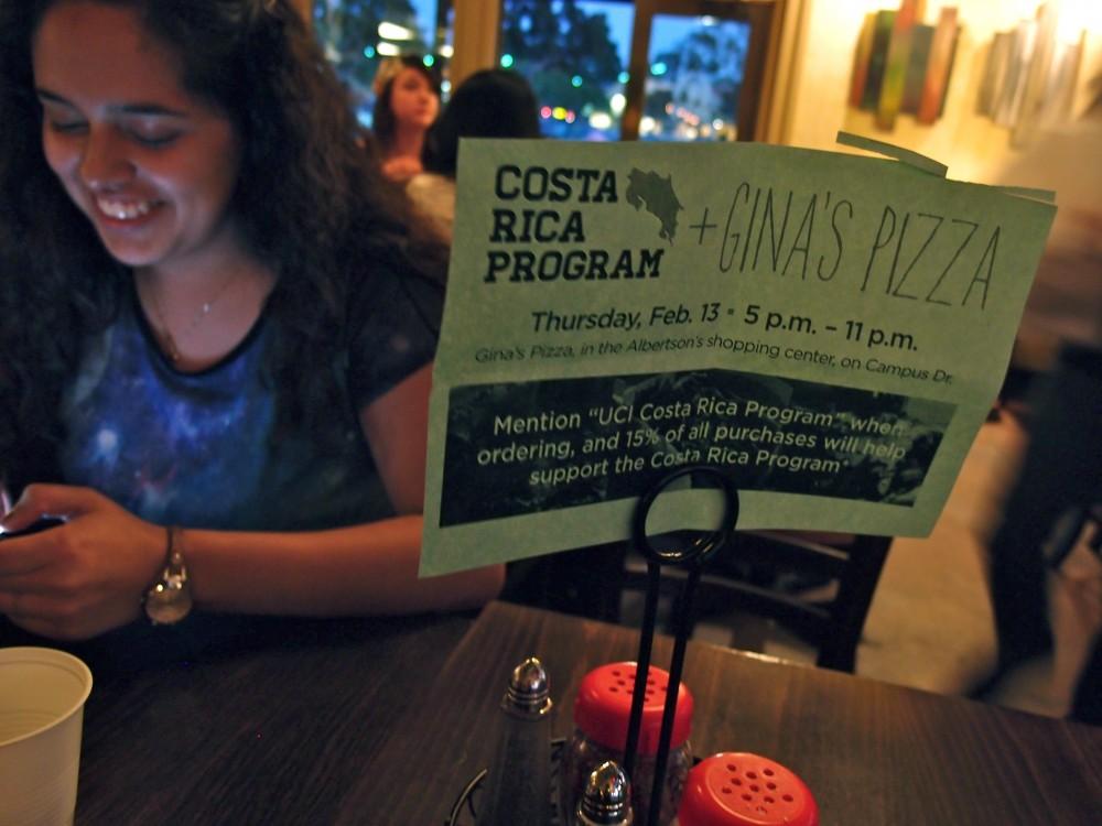 Gina's Pizza + Costa Rica Program