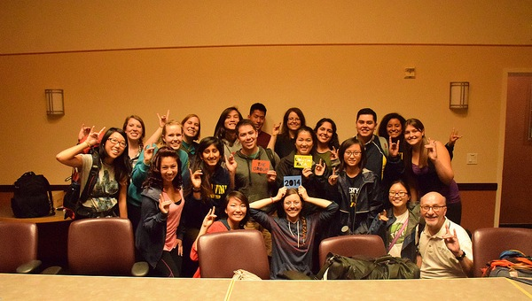 All of the 2014 CRP participants ready to embark on our journey!
