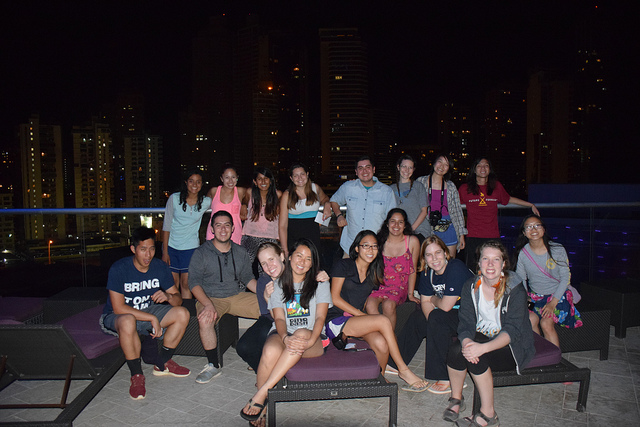 The adventure continues in Panama...one last night with the group before heading back home to Irvine.
