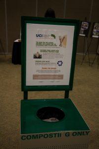 Symposium composting sign.