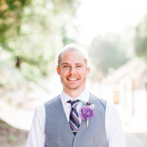 At my wedding, July 2018