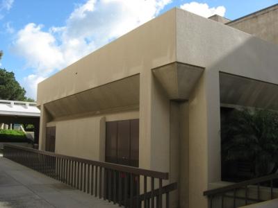 Social Science Hall - Exterior