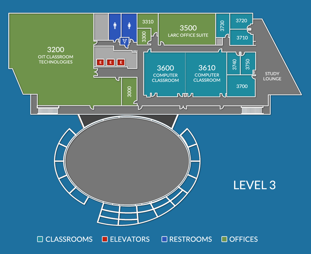 Anteater Learning Pavilion - Third Floor