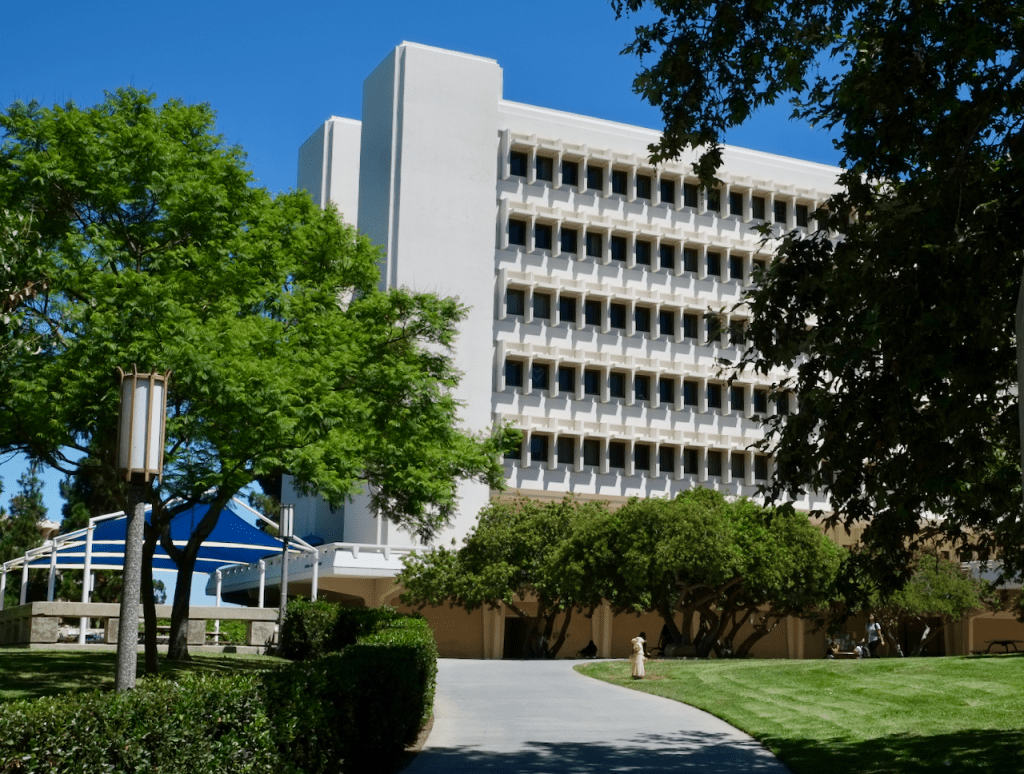 Social Science Tower - Exterior