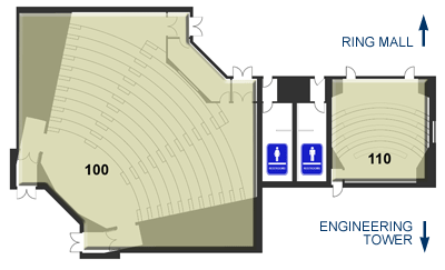 Engineering Lecture Hall - Layout