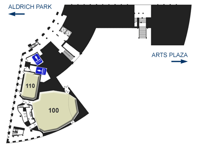 Humanities Instructional Building - Layout