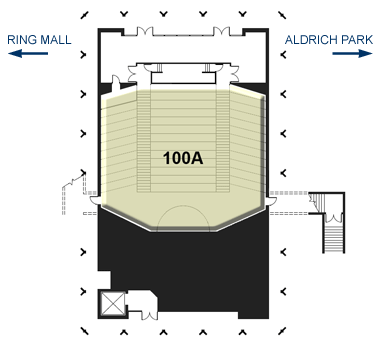 Howard Schneiderman Lecture Hall - Layout