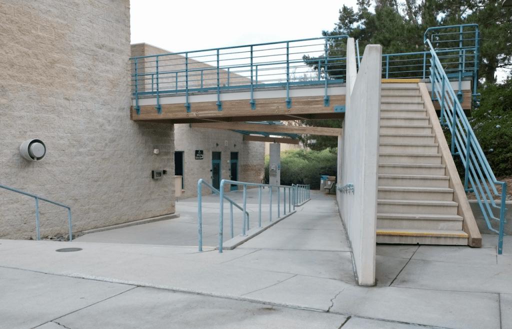Intercollegiate Athletics Building - Exterior