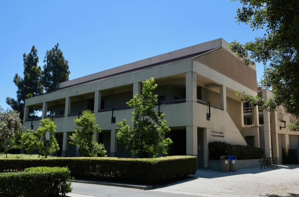 Physical Sciences Classroom Building - Exterior