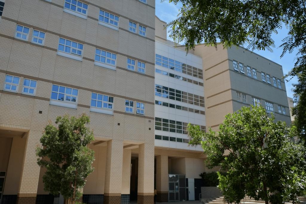 Social Science Plaza A - Exterior