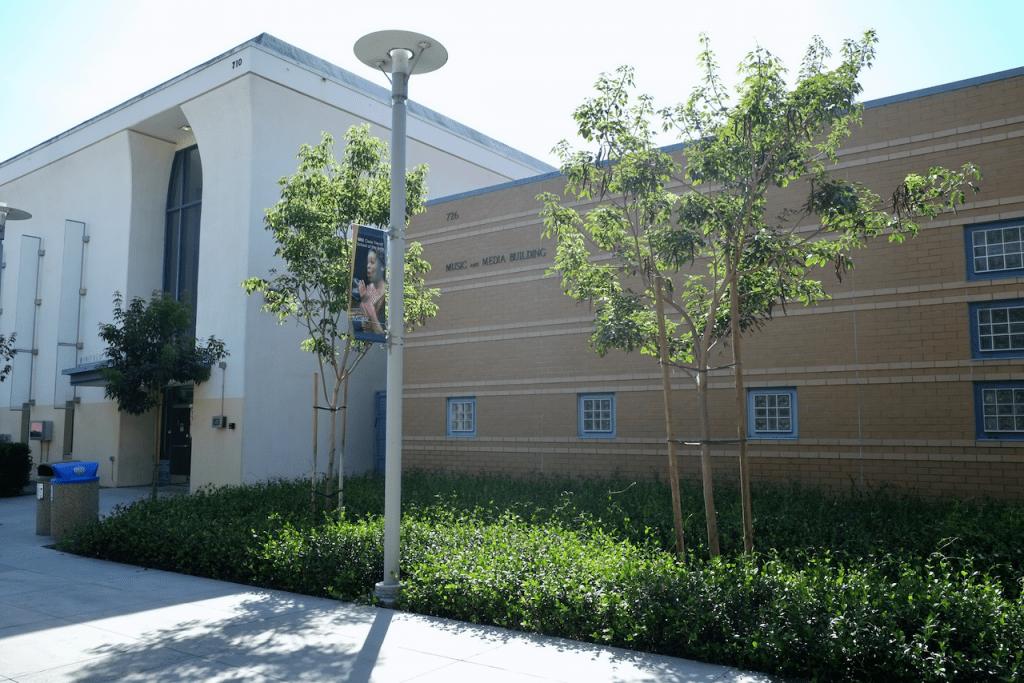 Music & Media Building - Exterior