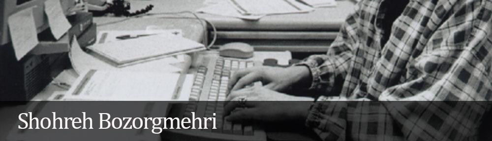 Shohreh Bozorgmehri