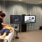 Teleultrasound Session: UNE Connection to UCIrvine