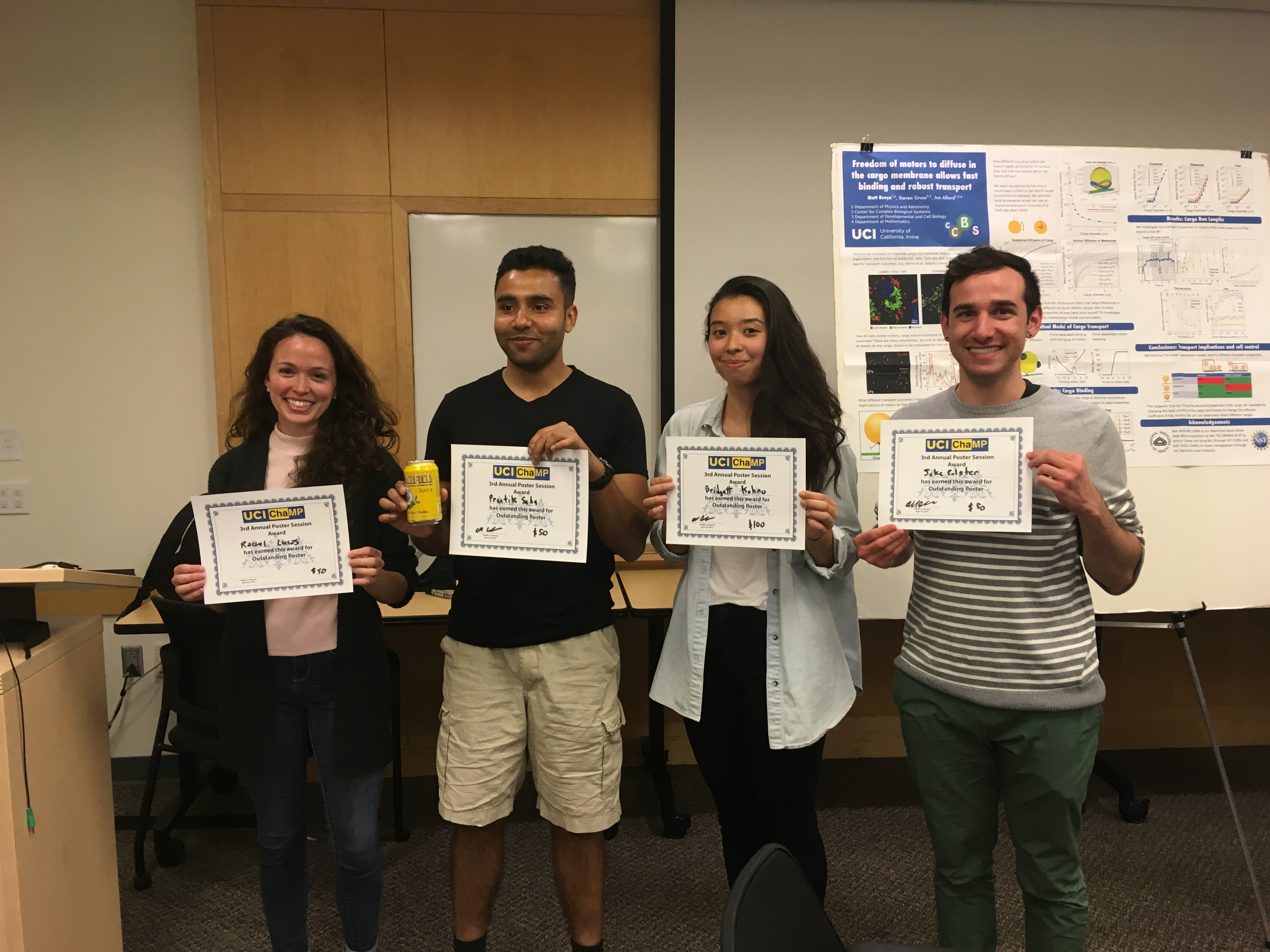 Congratulations to the ChaMP Poster Session Awardees