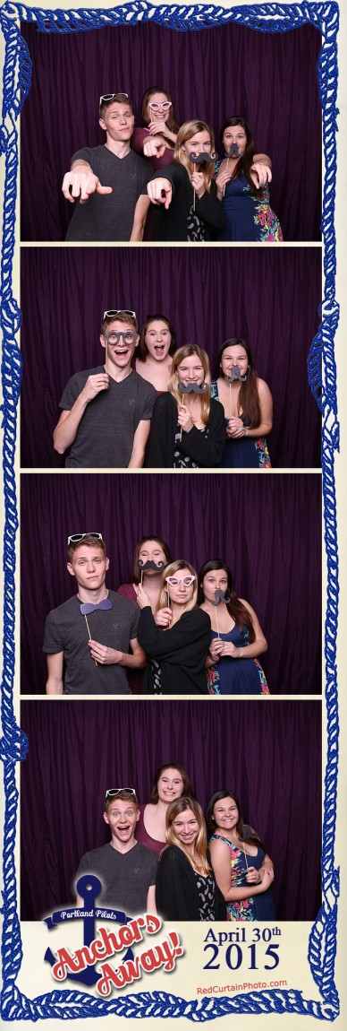 Anchors Away: Photo Courtesy of Red Curtain Photo Booth