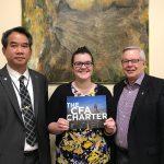 Bridget King wins the Charter Financial Analyst Society of Portland Scholarship!