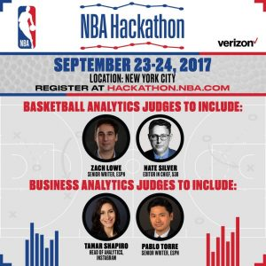 NBA Hackathon Information Poster