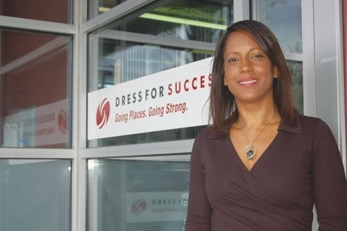 Shari Dunn, Executive Director of Dress for Success.