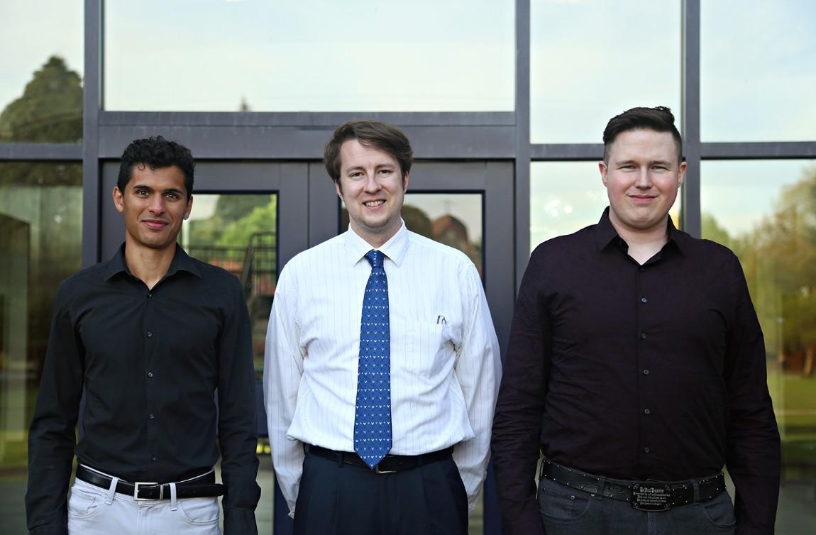 MS OTM Students: Kevin Mowrey, Noah Schutte, and Ragnar Hartmann
