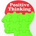 positive thinking dreamstime