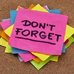 Don't forget - remember-reminder dreamstime_m_16642129.jpg