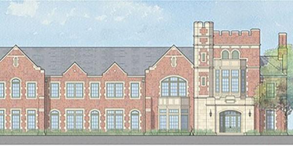 Dundon-Berchtold Hall Groundbreaking, Sept. 21