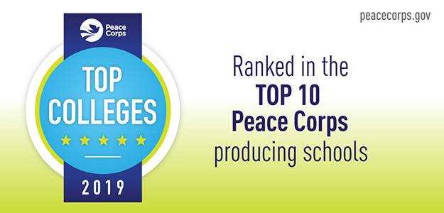 UP Ranked 9th Nationally for Peace Corps Volunteers