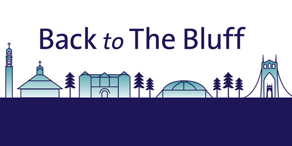 """""""Back to The Bluff"""" Primary Info Source for Campus Re-Entry"""