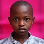Child from the Rising Rwanda project