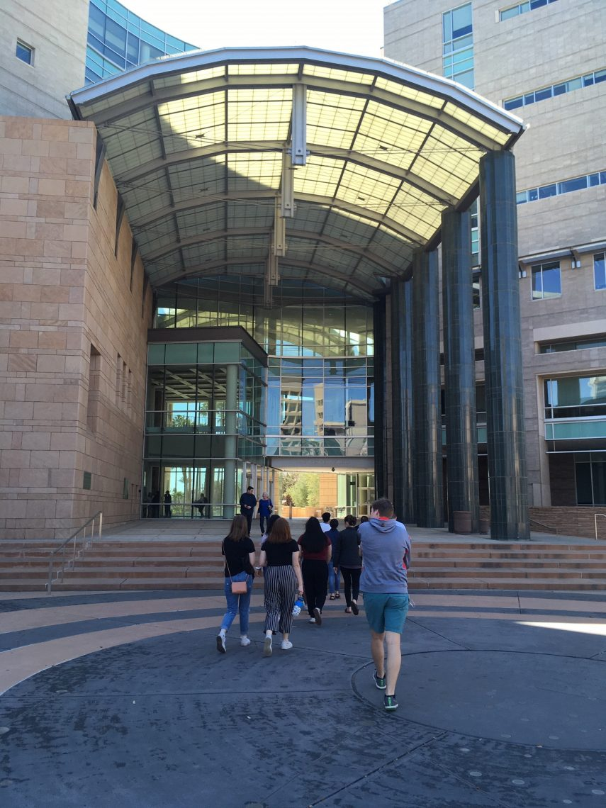 students entering Federal Court building for Operation Streamline