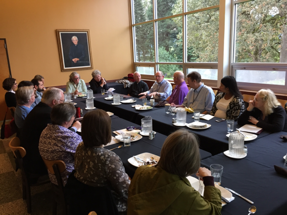 ATR Fellows in Teske Dinning room