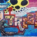 stress graffiti