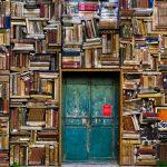 Door and books