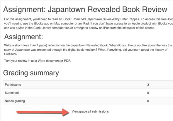 Bulk Download Student Assignment Submissions | Moodle Guides