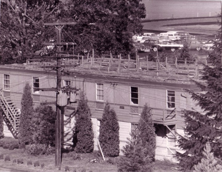 Photo of St. Josephs Hall 1962