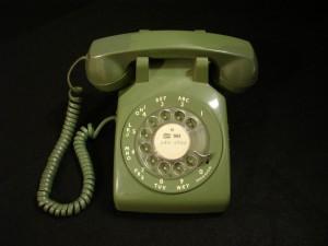 Rotary phone, c1983 (University Museum)