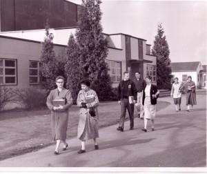 Education Hall, 1950s