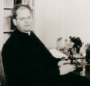 Rev. John Molter, C.S.C., 1948  (University Archives photo, click to enlarge image)