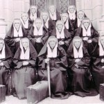 Sisters of St. Mary of the Presentation, Arrival around 1903 (University Archives photo, click for full image)