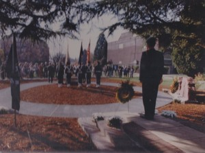 Dedication of the Broken Wall Memorial, 1990