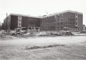 Shipstad Hall Construction, 1966-67 (University Archives photo)